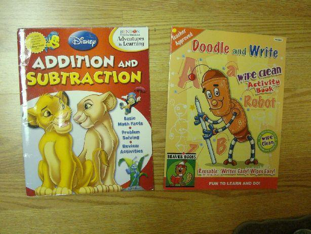 2 New Activity Books - $1 both