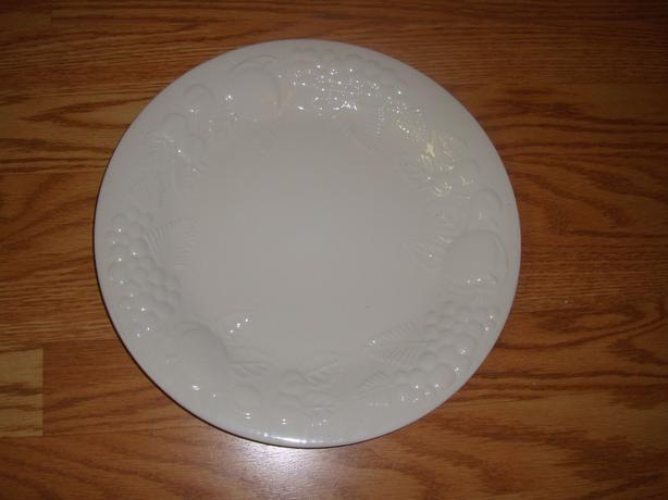 New Large White Serving Platter - $5