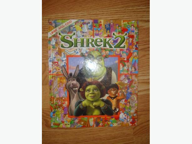 Like New Shrek 2 Book - $3