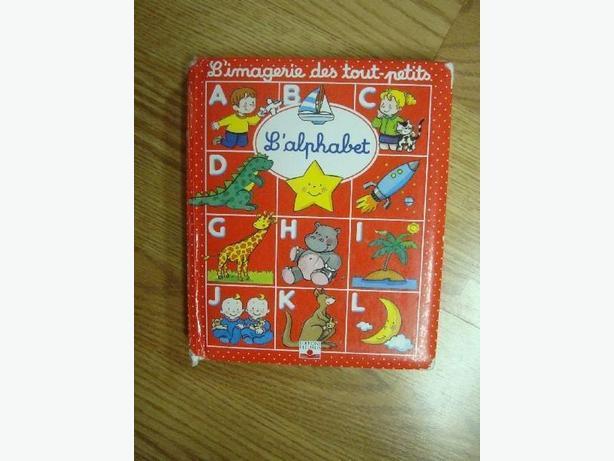 Like New Imaginerie des tout petits L'alphabet book - $1