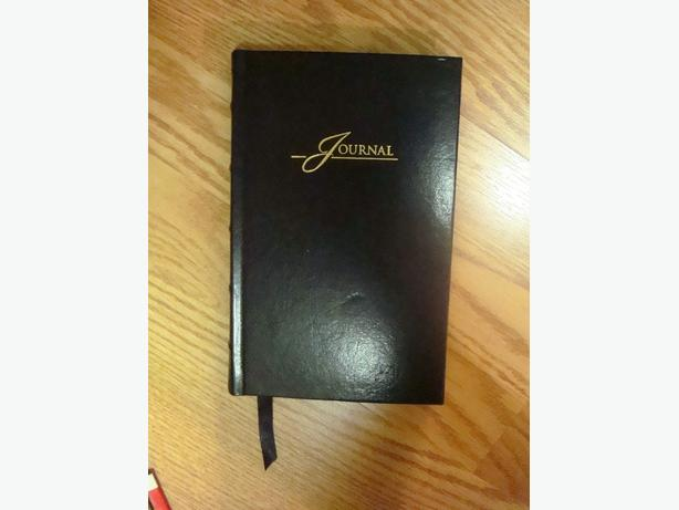 Brand New Black Leather Journal Book - $
