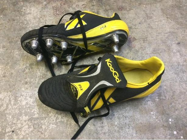 Rugby Cleats  Size 10