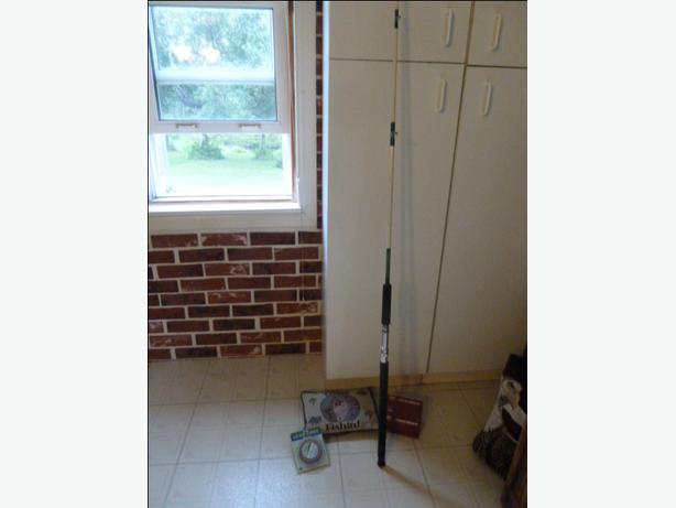 NEW BR 2000 Boat Rod, NEW Penn level 209M reel & NEW Lead core line