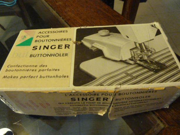 Vintage Singer Buttonholer