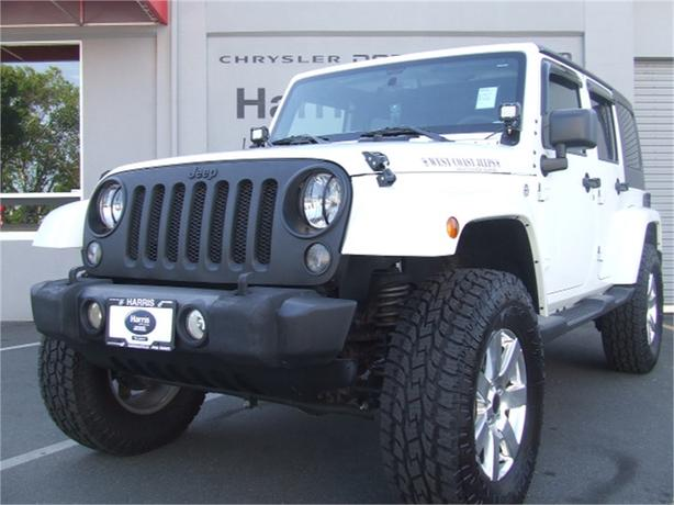 2015 Jeep Wrangler Unlimited Sahara Serious Off Road!