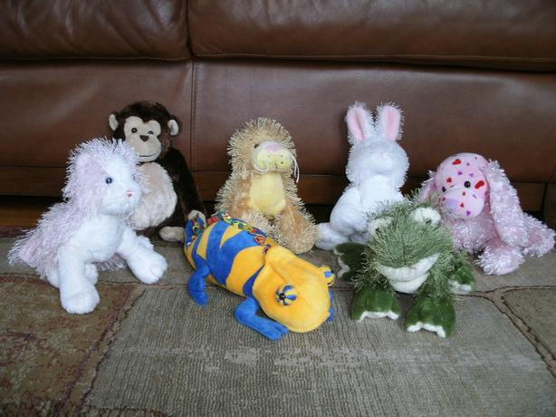 Assorted WebKinz stuffed animals - no codes - only $15