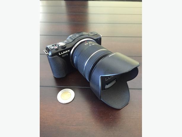 panasonic lumix g5 micro 4/3's camera