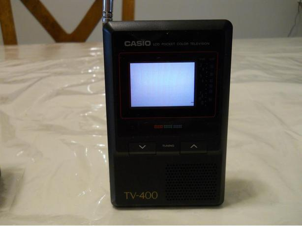 Casio TV - 400 Liquid Crystal Colour Television