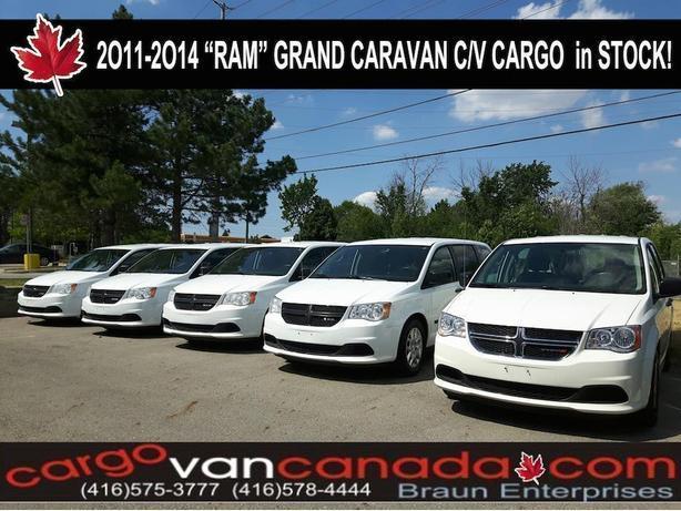 2O14 - 2O11 CARAVAN RAM CARGO C/V WORK VANS from 6900!
