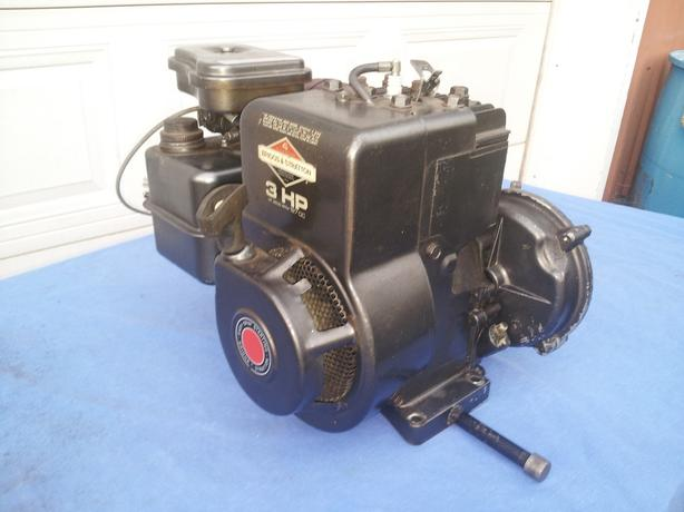 Briggs and Stratton with gear reduction