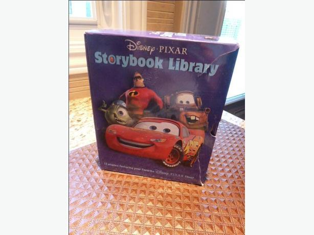 Disney Pixar STORYBOOK LIBRARY Boxed set of 12 books