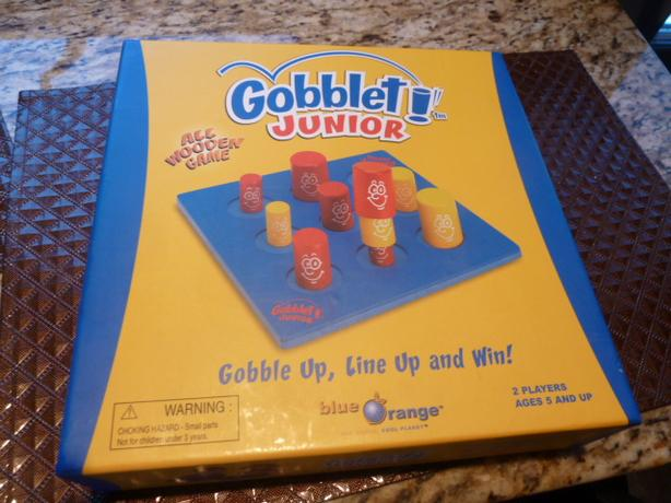 ALL WOODEN GAMES Gobblet! Junior and Zimbbos!
