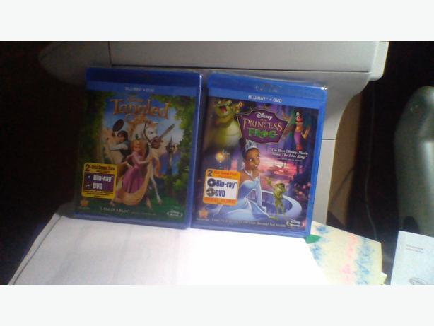 Disney DVDs/Blu-ray combo