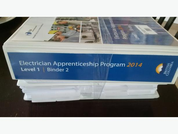 Electrical Apprenticechip level 1 binders