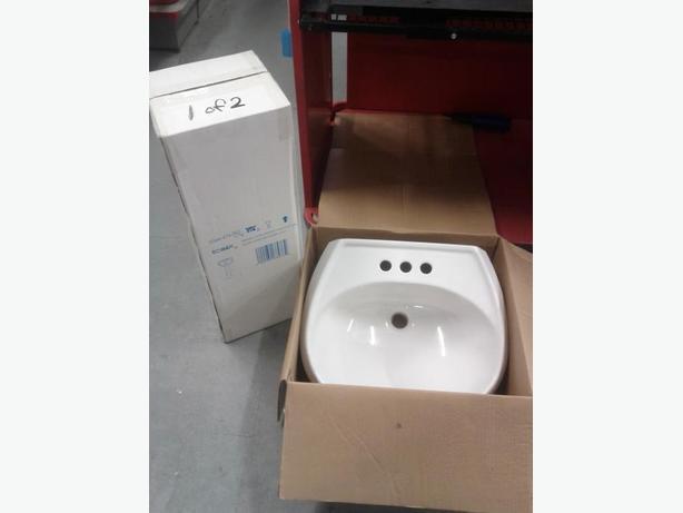 New Pedestal Sink