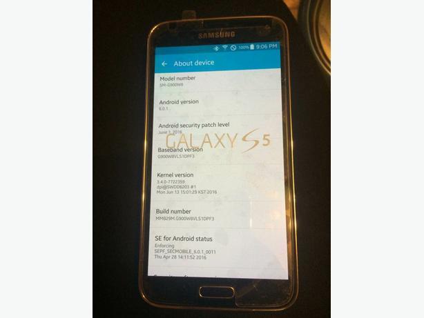 Telus/Koodo Samsung Galaxy S5 (SM-G900W8)