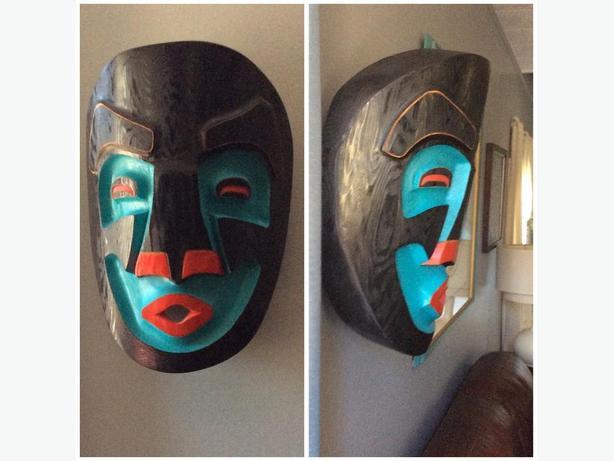 wild woman mask