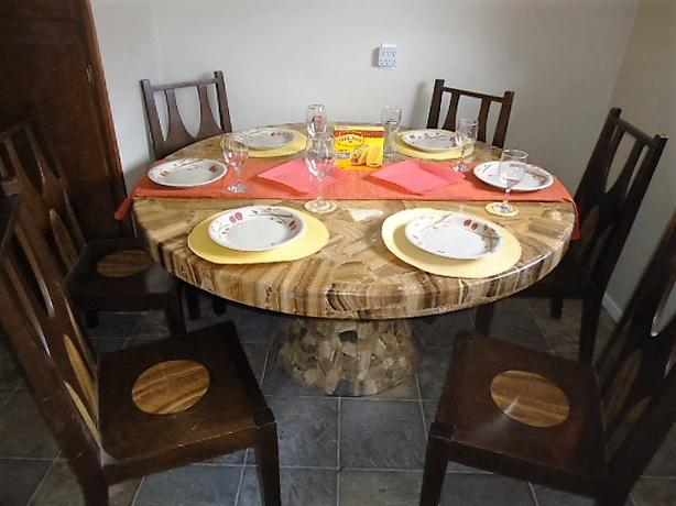 Mexican Marble Dining Set