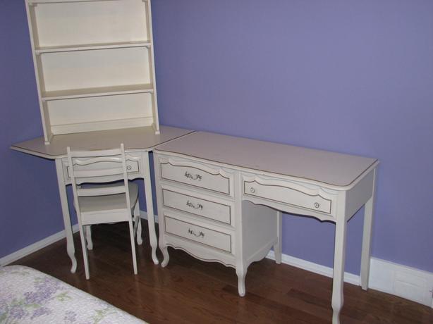 Girls Baronet White Bedroom Furniture Set