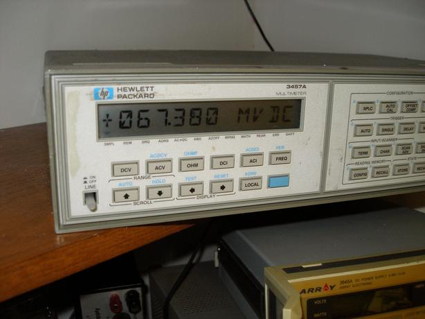 HP 3457A Multimeter.