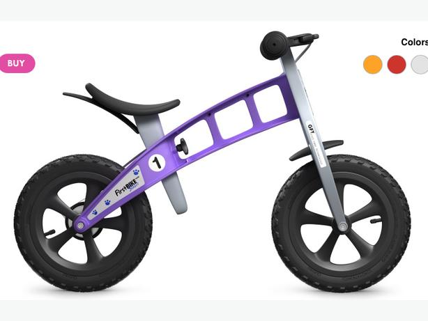 Lost in Cumberland Purple Run bike