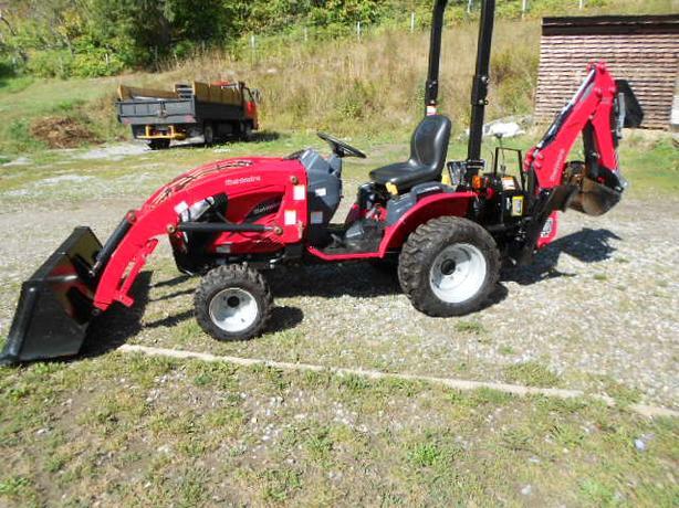 2015 Mahindra E-Max 22HP Compact Tractor 90hrs
