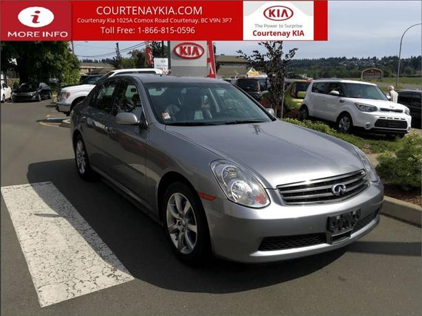 2006 Infiniti G35X | AWD **BOXING WEEK BLOW-OUT**