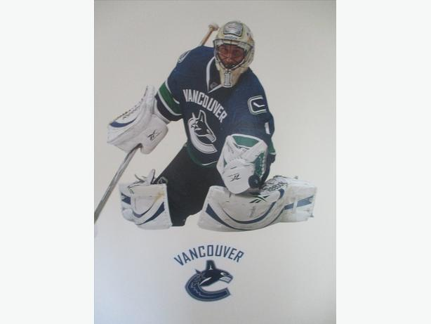 Vancouver Canucks Giant Goalie Wall Decals