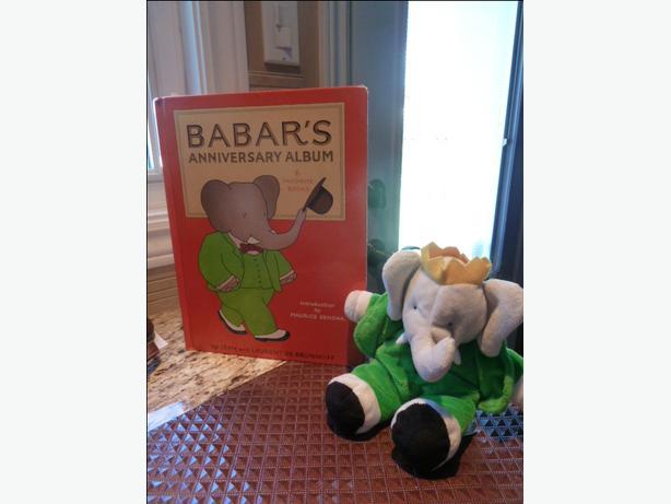 Babar's Anniversary Album: 6 Favorite Books & Babar plush