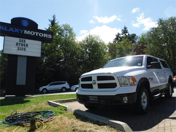 2014 Ram 1500 Outdoorsman Crew 5.7L V8 HEMI Short Box- 4WD