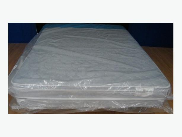 New queen mattress set with box spring