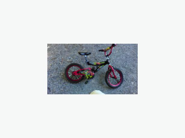 14 inch Cars theme bike