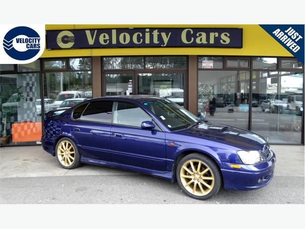1999 Subaru Legacy B4 RSK 4WD Twin-Turbo Auto 40K