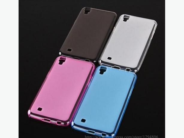 New Soft TPU Matte Back Case Cover For LG X Power