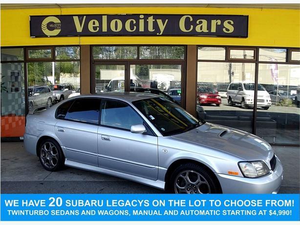 2001 Subaru Legacy B4 Blitzen 103K's AWD Twin-Turbo 265hp