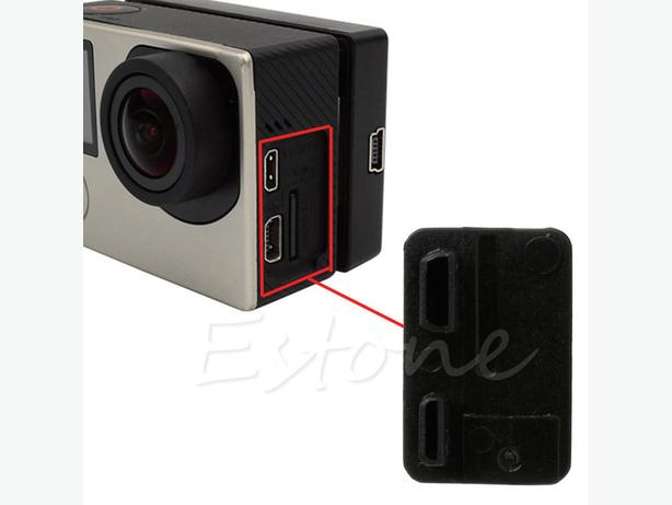 Side Door Cover Case Cap Hat for Gopro 3 3+ 4