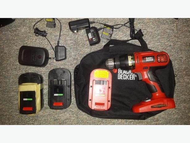 Black and Decker 18V drill