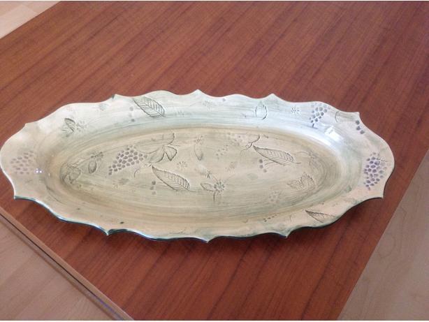 Leaf Printed Platter