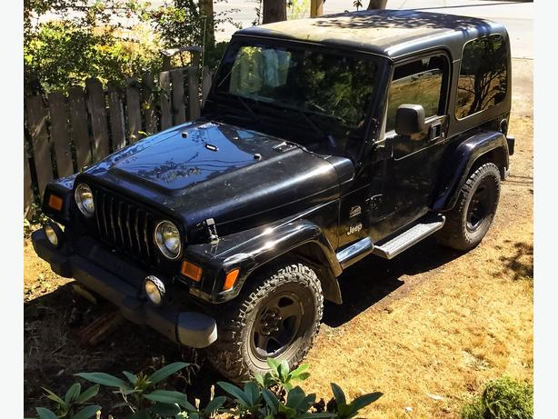 Buying house, selling Jeep!