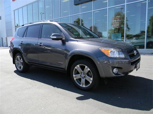 2012 Toyota Rav4 Sport ONE OWNER LOCAL B.C