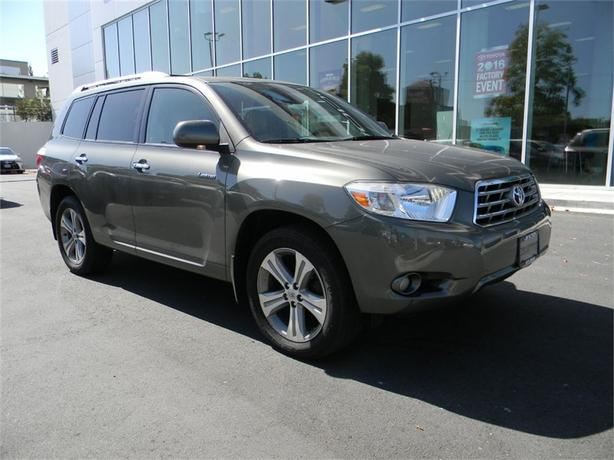 2009 Toyota Highlander V6 Limited LOCAL TO THE ISLAND