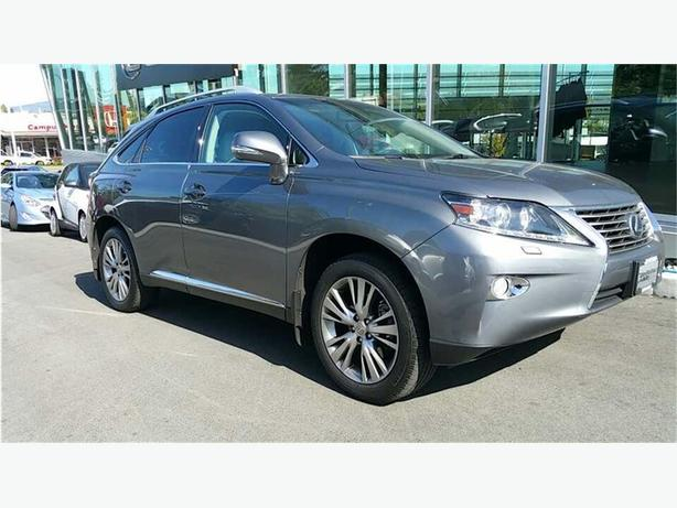 2013 Lexus RX 350 Touring Package NO ACCIDENTS LOCAL B.C.