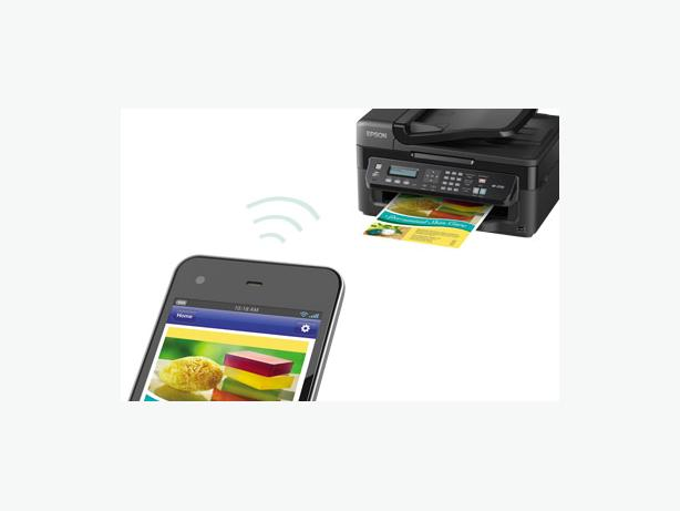 Epson WorkForce WF-2530 All-in-One Printer plus New Ink Ctgs
