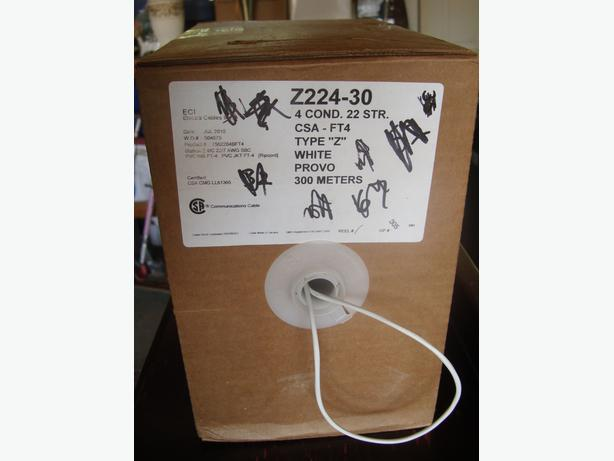 Brand New 300m Roll of communications cable - $10