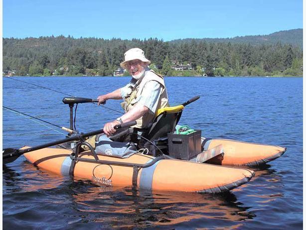 Motor Mount for Pontoon Boat