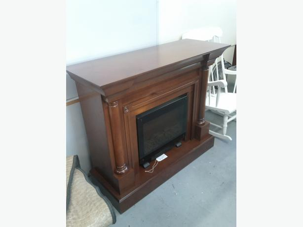 Fireplace Mantel with Heater