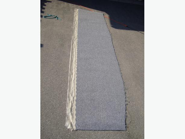 Brand New End-of-roll gray industrial carpeting - $10