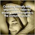 Be held in nurturing comfort