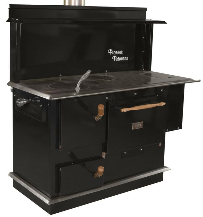Pioneer Princess Wood Cook Stove Range New Starts 2 870