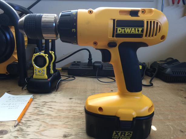 DeWalt 995 18V 1/2 inch drill/driver